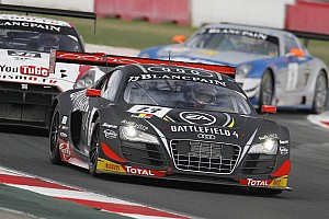 Blancpain Sprint Race report The Belgian Audi Club Team WRT secures Drivers' title with two podiums at Navarra
