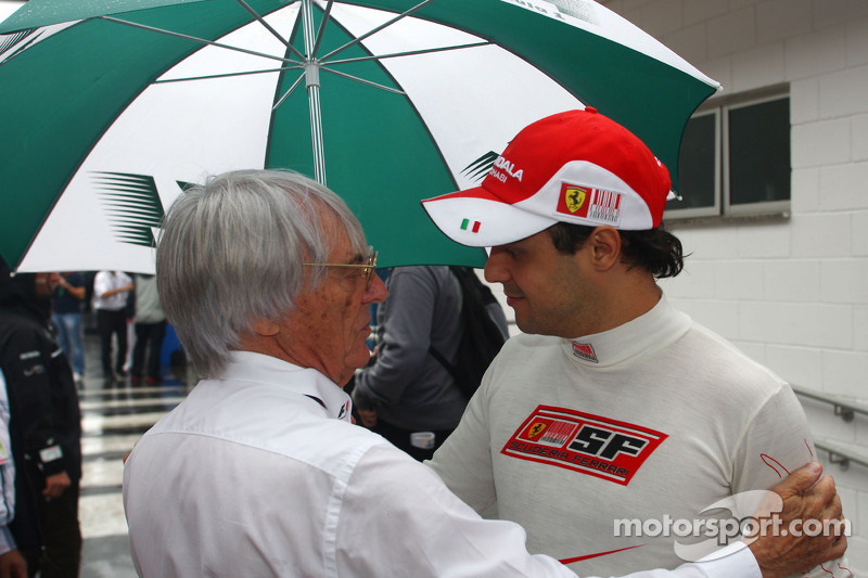 Toro Rosso an option for Massa - Ecclestone