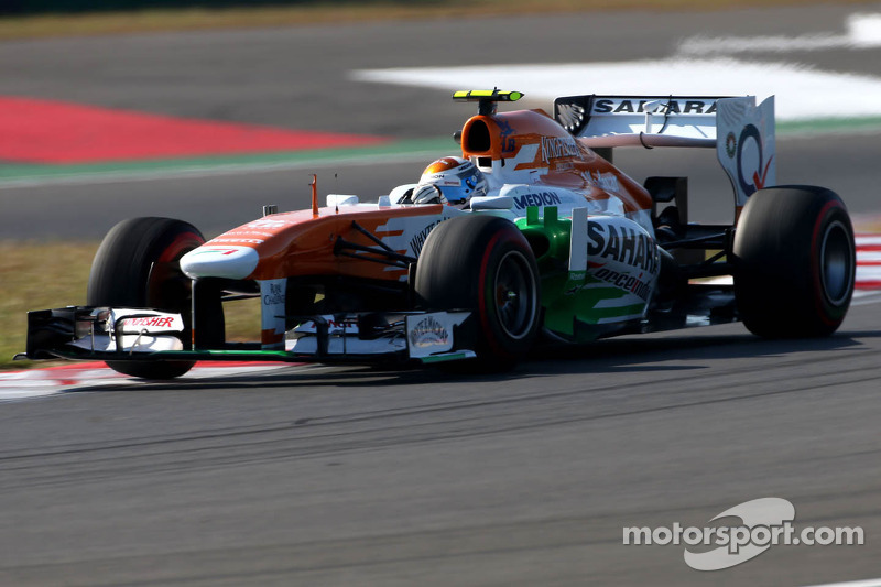 Sahara Force India completed a busy day of practice for the Korean GP