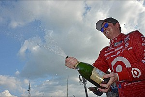 IndyCar Race report Chip Ganassi's Dixon takes championship lead after Houston doubleheader