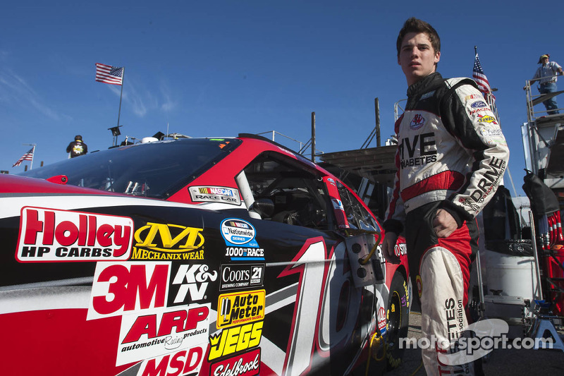 Reed to drive the No. 16 Roush Fenway Ford Mustang in 2014