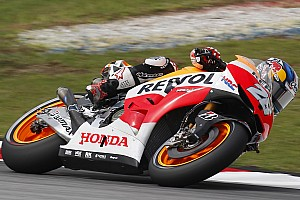 MotoGP Practice report Bridgstone: Pedrosa close to record pace on opening day in Malaysia