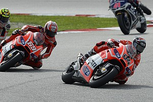 Malaysian GP: Dovizioso eighth, DNF for Hayden