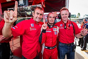 ALMS Qualifying report Malucelli charges to GT pole in Risi Ferrari for Petit Le Mans