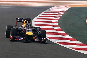 Formula 1 Practice report Vettel starts strongly in India