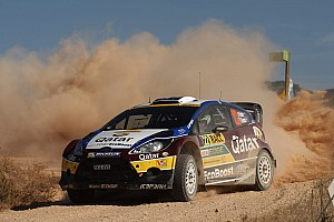 WRC Race report Paddon takes eighth place on debut in WRC Rally Spain
