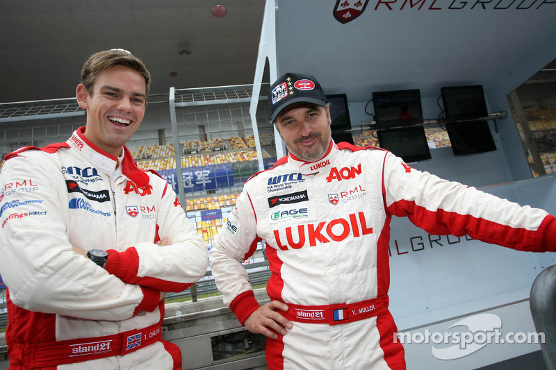 RML takes a commanding 1-2 finish in Shanghai