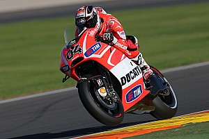 MotoGP Qualifying report GP de la Comunitat Valenciana: Third and fourth rows for Dovizioso and Hayden