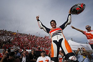 MotoGP Breaking news Marquez becomes youngest ever MotoGP World Champion