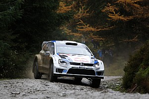 WRC Qualifying report Here we go: World Rally Champion Ogier tops qualifying in Wales