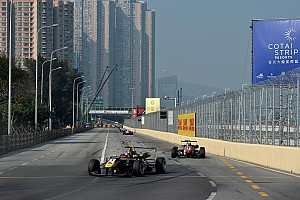 Félix da Costa runner-up in Macau