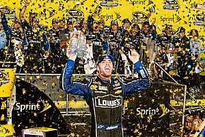 NASCAR Sprint Cup Breaking news Johnson races to the NASCAR Sprint Cup title for 6th time