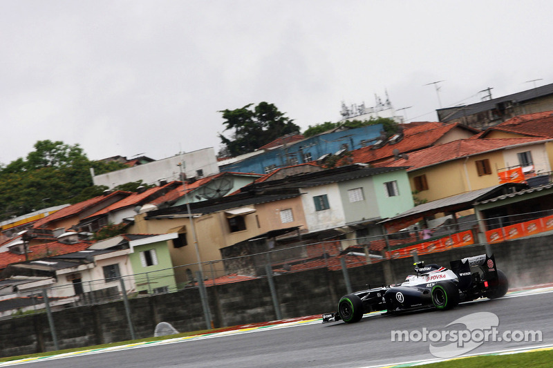Williams trying the best set-up for tomorrow's Brazilian GP qualifying