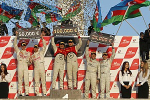 Magic Baku for the Belgian Audi Club Team WRT