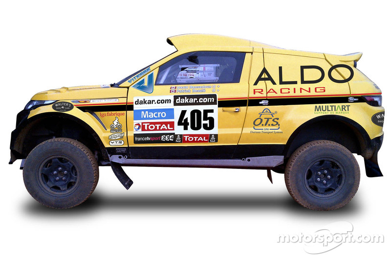 Montreal Team ALDO racing in grueling Dakar rally