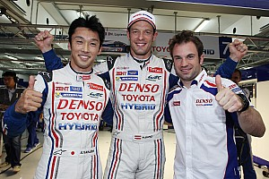 WEC Qualifying report Toyota Racing sweeps front row in Bahrain
