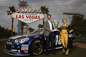 Day one: NASCAR Champion's Week in Las Vegas officially begins