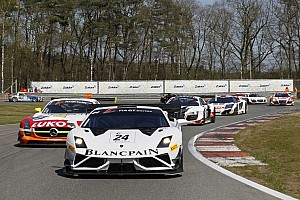 Blancpain Sprint Breaking news Blancpain GT Series adds Circuit Zolder to 2014 calendar