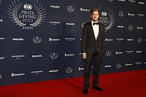 Formula 1 Breaking news Vettel and Red Bull Racing take their championship awards in Paris