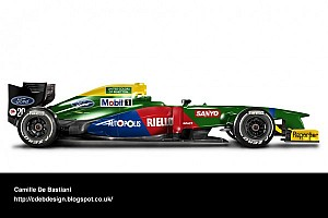 Retro F1 liveries. It's a passion thing.