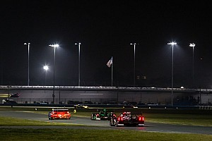 Night moves on the high banks: no ordinary Rolex 24 practice session