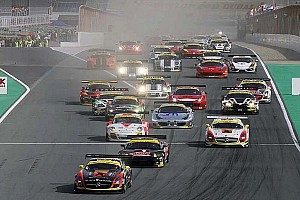 Start and early hours report from Dubai 24H - Mercedes leads after three hours