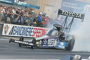NHRA Preview Antron Brown is eager for spinning tires at Pomona