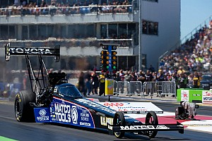 Brown posted best Top Fuel qualifying time at Pomona