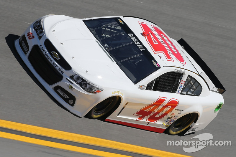 Cassill takes another shot at Daytona success