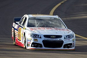 NASCAR Sprint Cup Breaking news Dale Earnhardt Jr. maintains momentum with second-place run at Phoenix