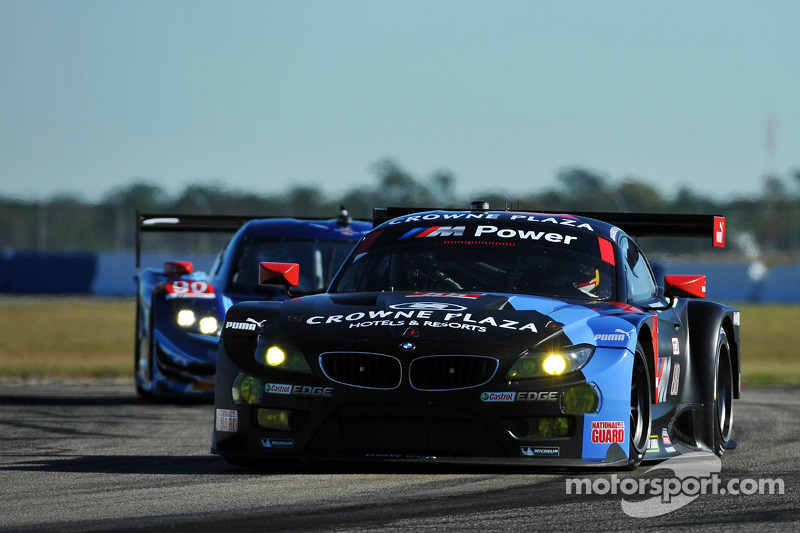 BMW Team RLL races in P3 and P10 at 12 Hours of Sebring mid-point