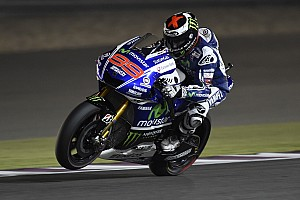 MotoGP Practice report Lorenzo leaves it late to find form in third Qatar practice