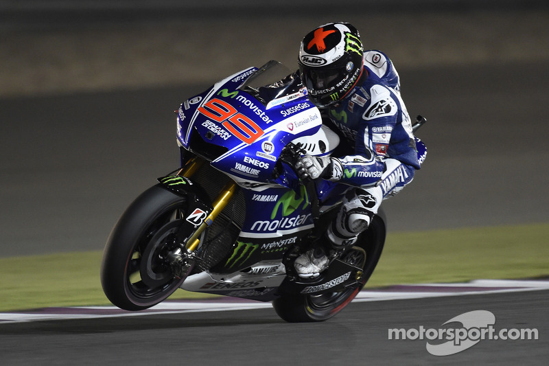Lorenzo leaves it late to find form in third Qatar practice