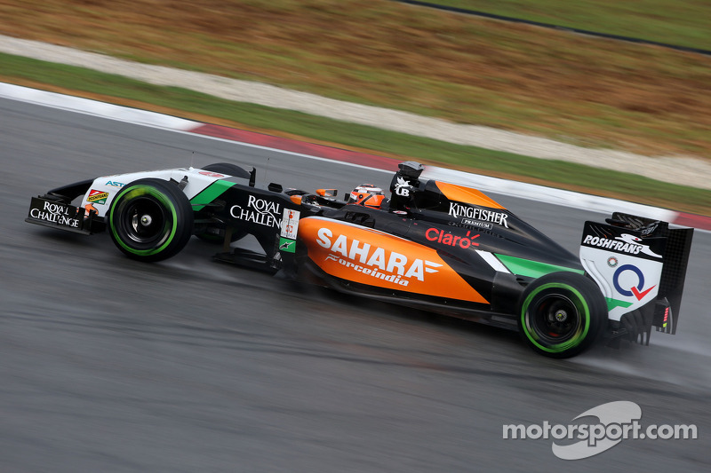 Promising performance by Hulkenberg in Malaysian qualifying