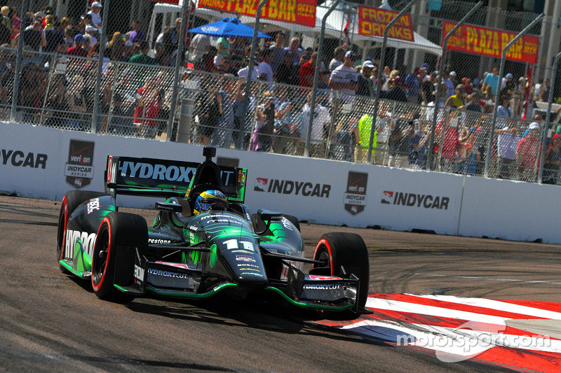 Sebastien Bourdais finishes 13th at St. Petersburg