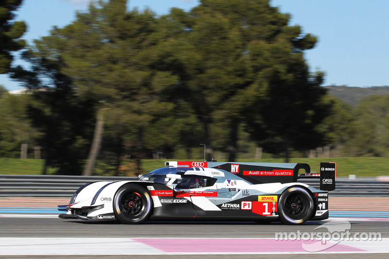 Improved ergonomics for Audi's WEC drivers