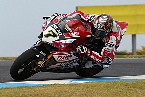 Top five for the Ducati Superbike Team in first practice sessions at Aragon