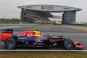 Formula 1 Qualifying report Both Red Bull drivers on qualifying podium at China
