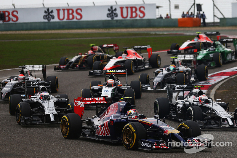 Another points finish for Toro Rosso's Kvyat in China