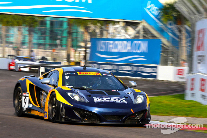 K-PAX Racing McLaren 12C GT3s head to Barber Motorsports Park this weekend