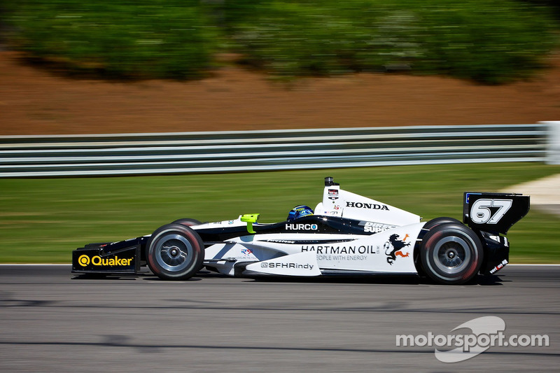 Newgarden to start 4th at Barber Motorsports Park