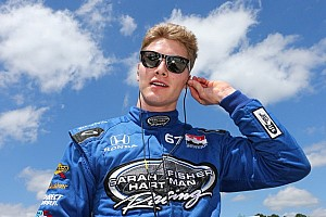 Newgarden fastest, Kimball to backup after morning crash