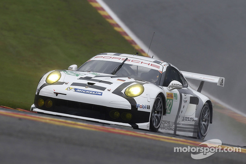 Two Porsche 911 RSR lock out second grid row at Spa