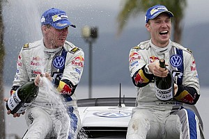 WRC Race report Latvala defeats teammate Sebastien Ogier in Rally Argentina
