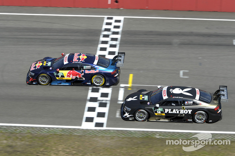 Audi travels to DTM at Oschersleben with tailwind