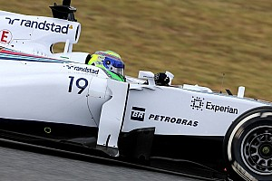 Barcelona test - Day 1 - Williams Martini Racing