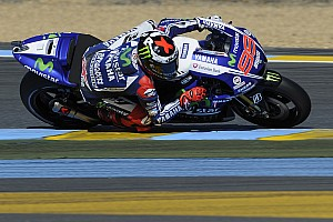 MotoGP Practice report Yamaha: Action begins in Le Mans for the French GP