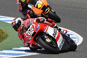 MotoGP Race report Eighth for Dovizioso, eleventh for Crutchlow in French GP at Le Mans