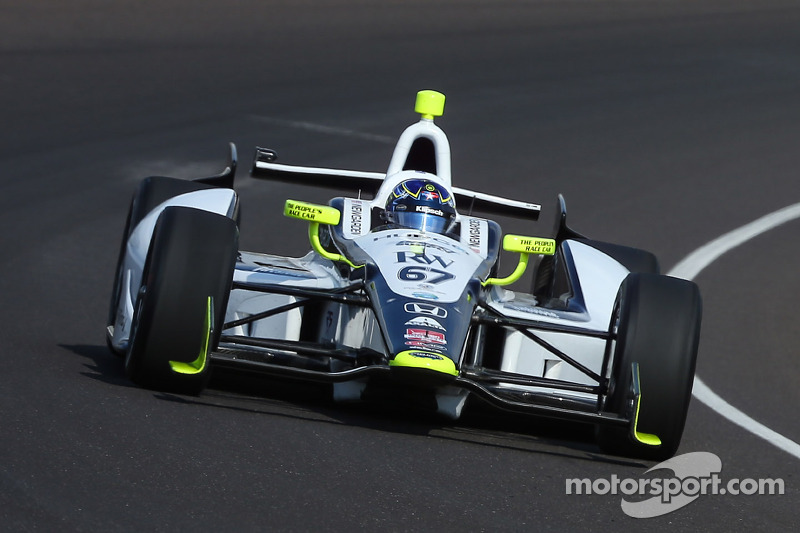 Rising Star Racing's Newgarden scores eighth on Indianapolis 500 grid