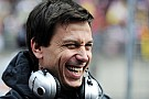 Happy Toto Wolff surprised by McLaren, Ferrari struggles